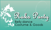 ベリーダンス衣装 Raks Party