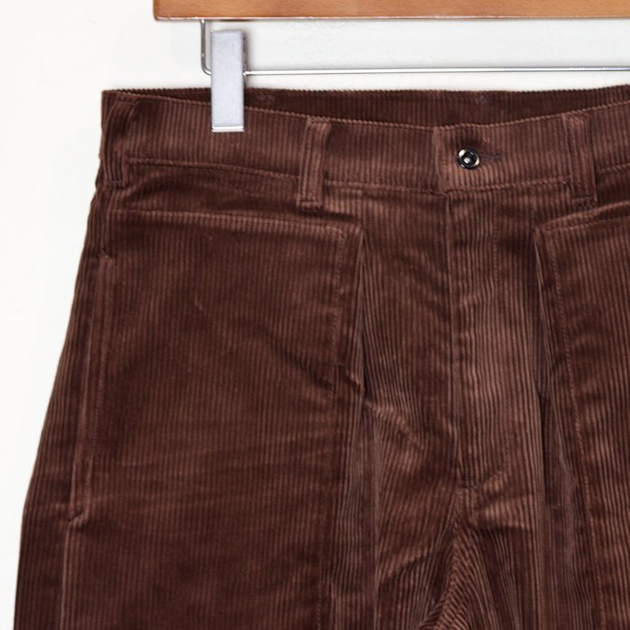 TUKI * Patched Work Pants * Brown