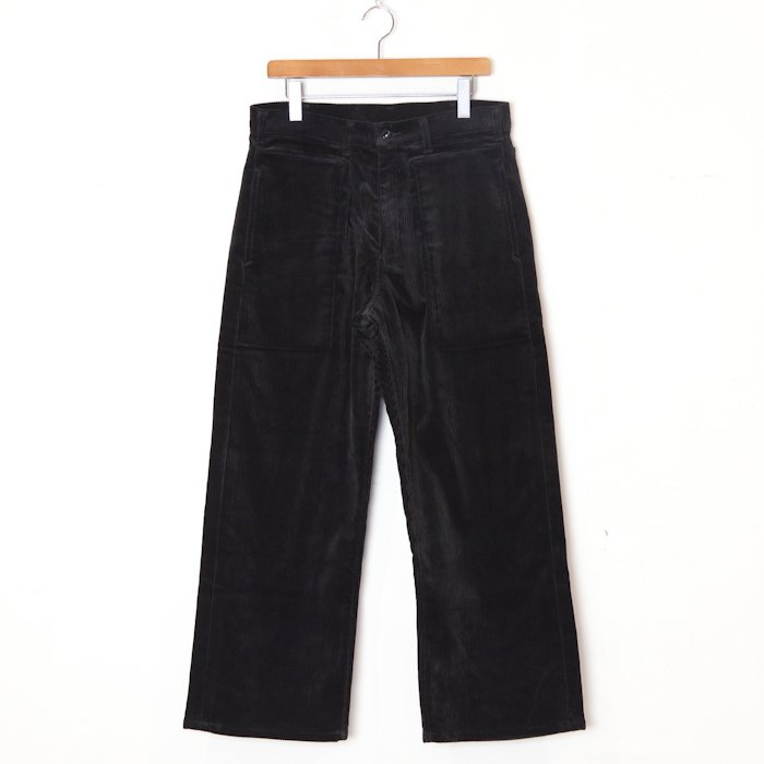 TUKI * Patched Work Pants * Ebony