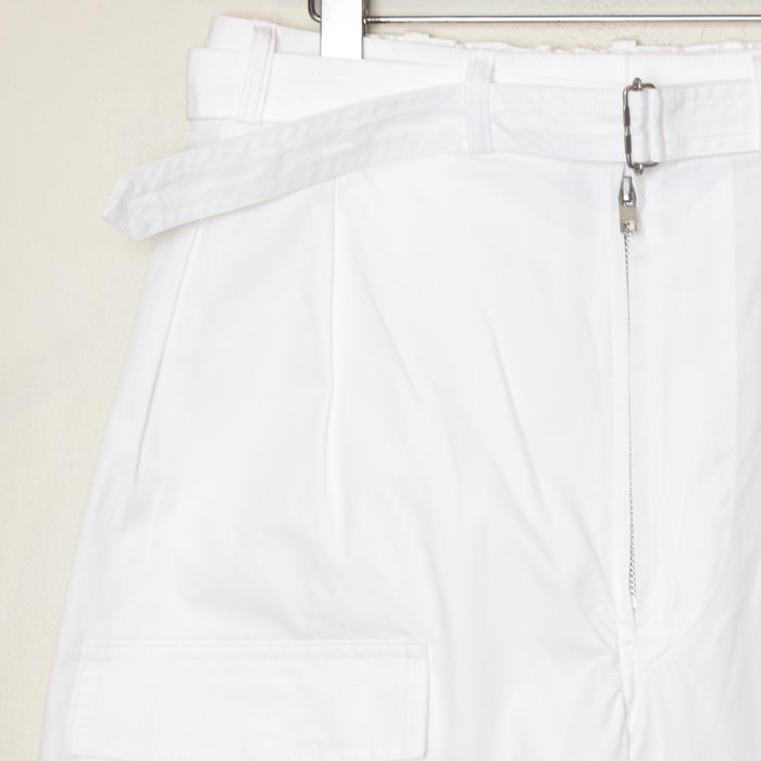 TUKI * Pilot Pants * White
