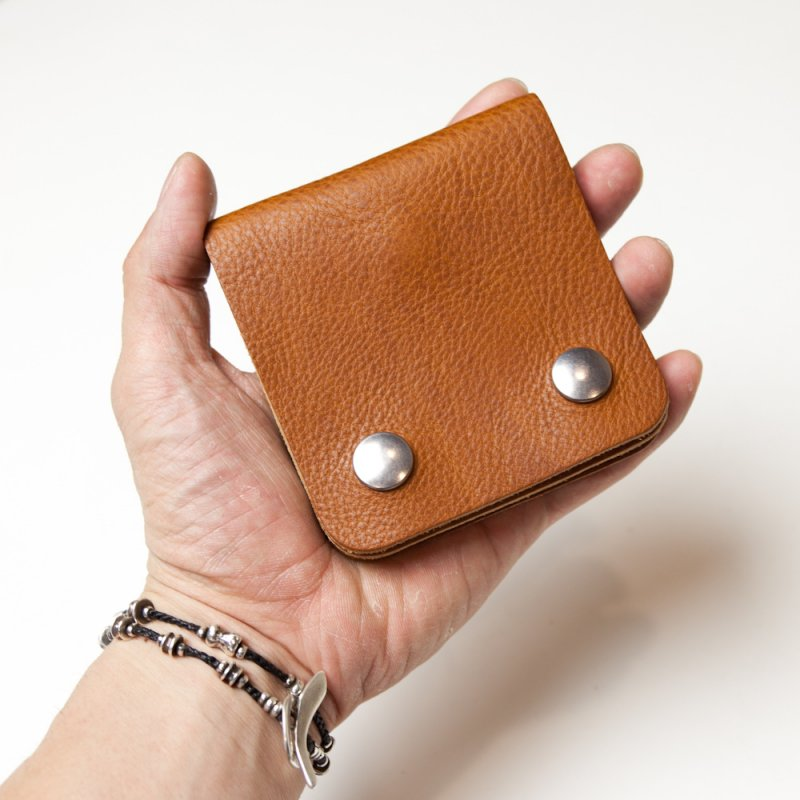 UNUSED * Small Wallet * Brown