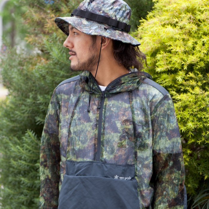 snow peak * Insect Shield CAMO Parka  * Green