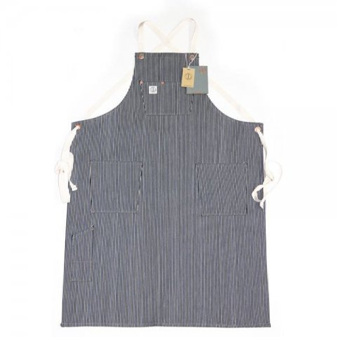 DAWSON DENIM * Mercantile Apron * Hickory Stripe