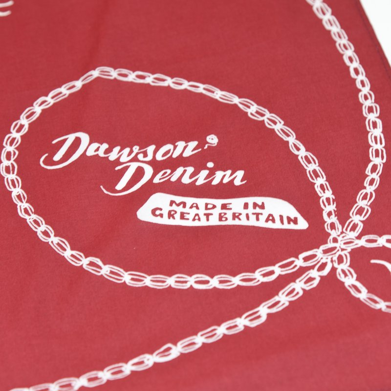 DAWSON DENIM * Cotton Bandana * Red