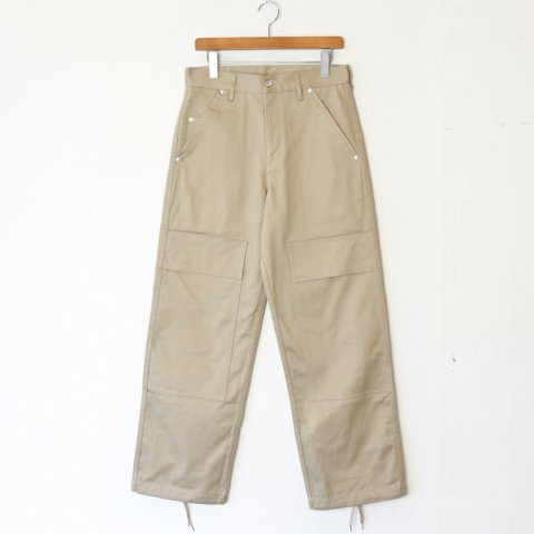 TUKI * Double Knee Pants * Khaki