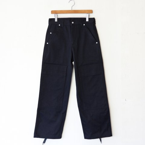 TUKI(SOLD OUT) * Double Knee Pants * Black