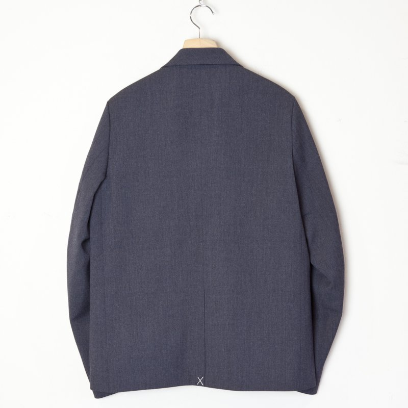 OAMC * Zip-lock 2-Button Suit Jacket * Dark Heather Grey