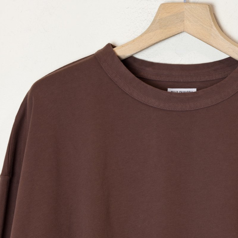 WILLY CHAVARRIA * L/S BUFFALO TEE * Chocolate