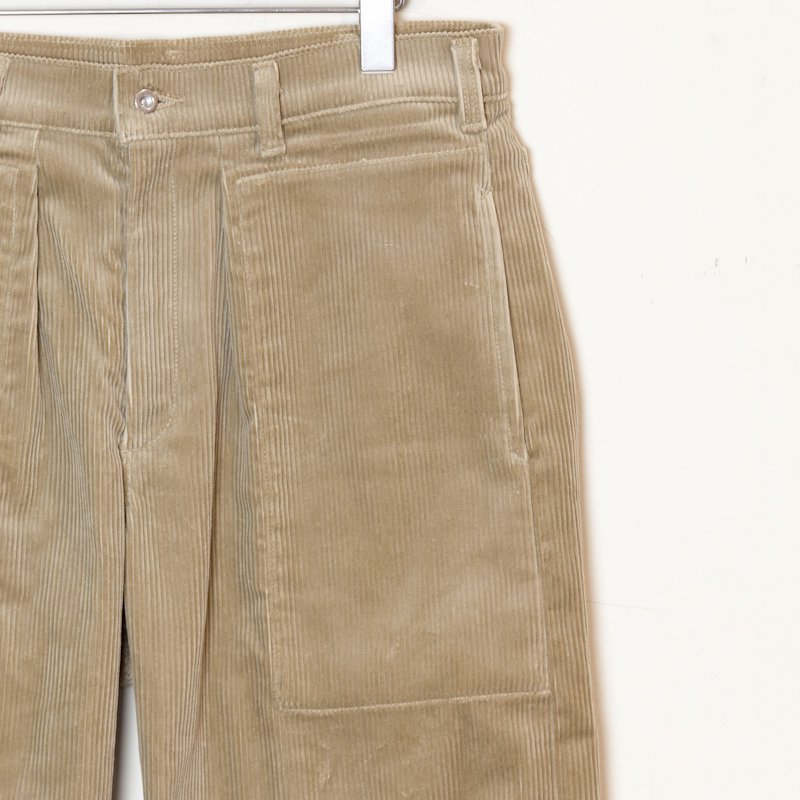TUKI * Patched Work Pants * Khaki