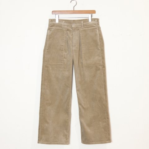 TUKI(SOLD OUT) * Patched Work Pants * Khaki