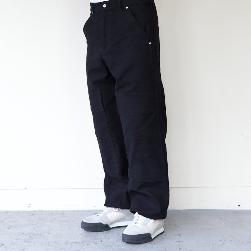 TUKI * Double Knee Pants * Black