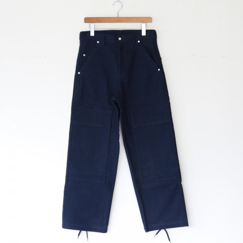 TUKI * Double Knee Pants * Navyblue