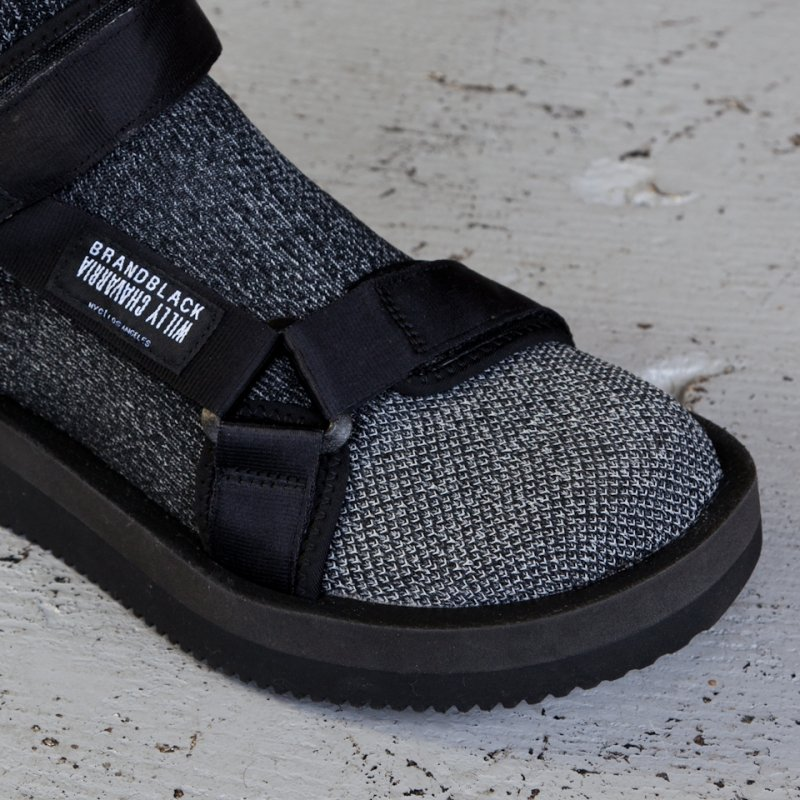 WILLY CHAVARRIA * Sandal Sock Shoe * Charcoal