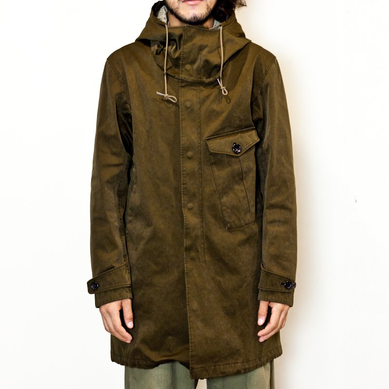 Ten-c * CYCLONE PARKA w/ Down Liner * Dark Olive