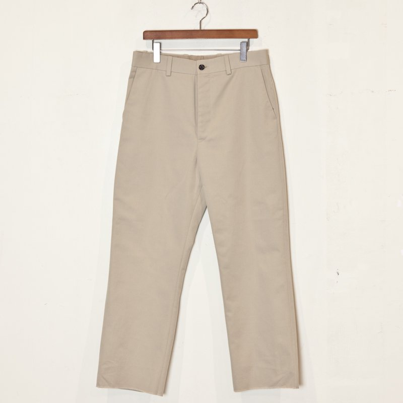 UNUSED  * Cotton Polyester Pants * Beige