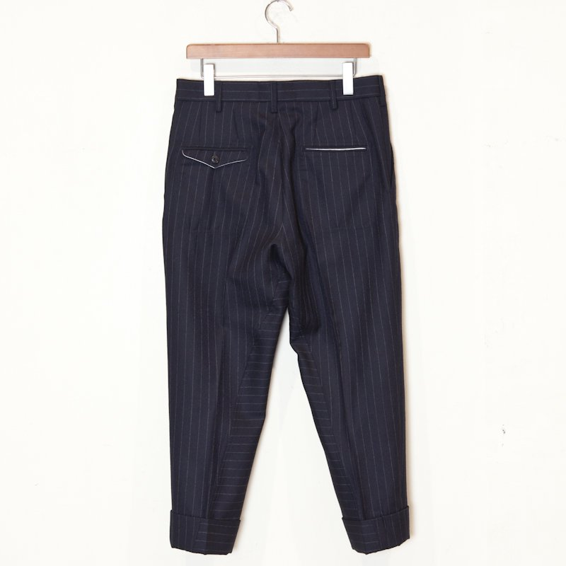 EESETT&Co * LAUREL Plain Trouser * Navy Stripe