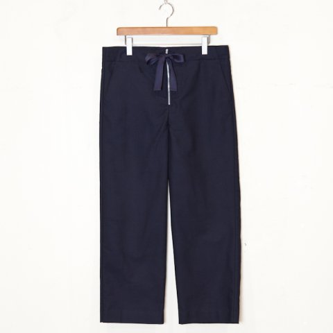 UNUSED  * Drawstring Wide Pants * Navy