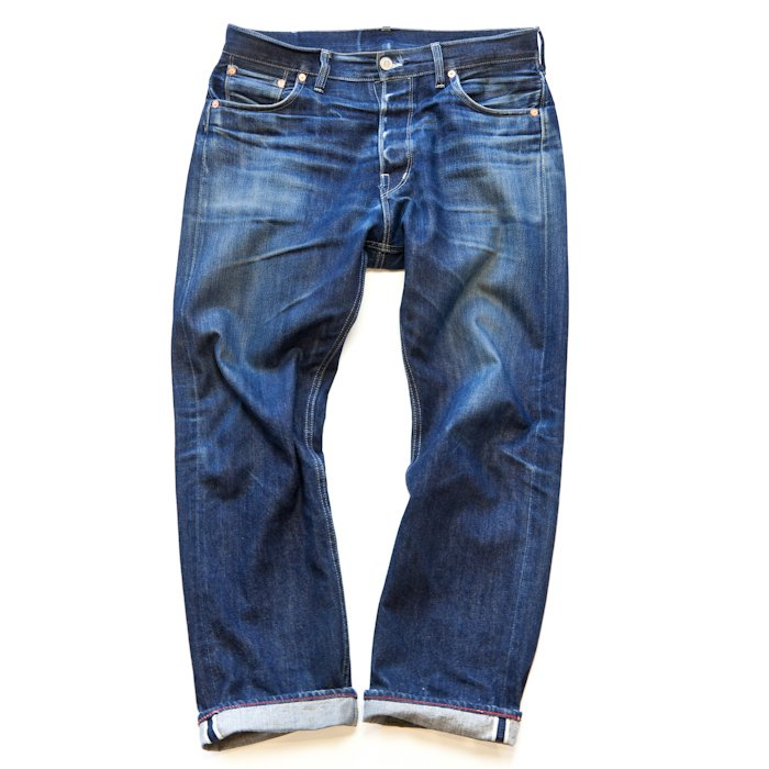 DAWSON DENIM * Wide Leg Jeans 14.25oz Selvedge Pure Indigo