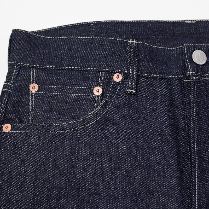 DAWSON DENIM * Regular Fit Jeans 14.25oz Selvedge Pure Indigo