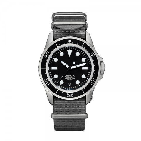 UNIMATIC * Unimatic Watch Kit U1-D * Black/Silver
