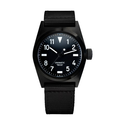 UNIMATIC * Unimatic Watch Kit U2-BN * Black