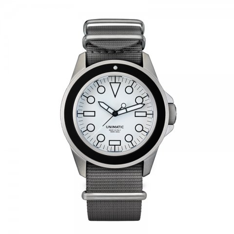 UNIMATIC * Unimatic Watch Kit U1-DW * White/Silver