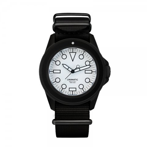 UNIMATIC * Unimatic Watch Kit U1-DWN * White/Black