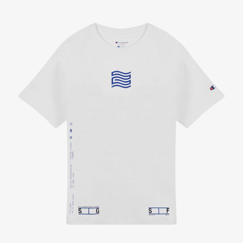 STILL GOOD * OLYMPIC SS TEE * White