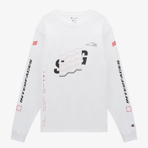 STILL GOOD * NEXT GEN LS TEE * White