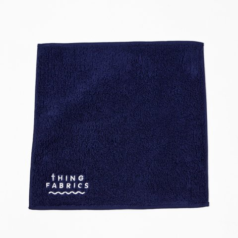 THING FABRICS * TIP TOP 365 Hand Towel * Navy