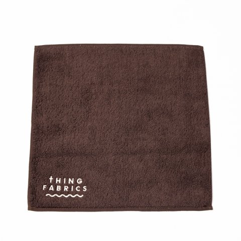 THING FABRICS * TIP TOP 365 Hand Towel * Brown