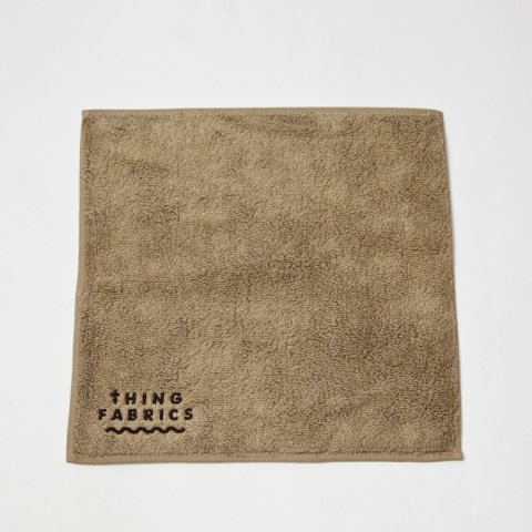 THING FABRICS * TIP TOP 365 Hand Towel * Khaki Beige