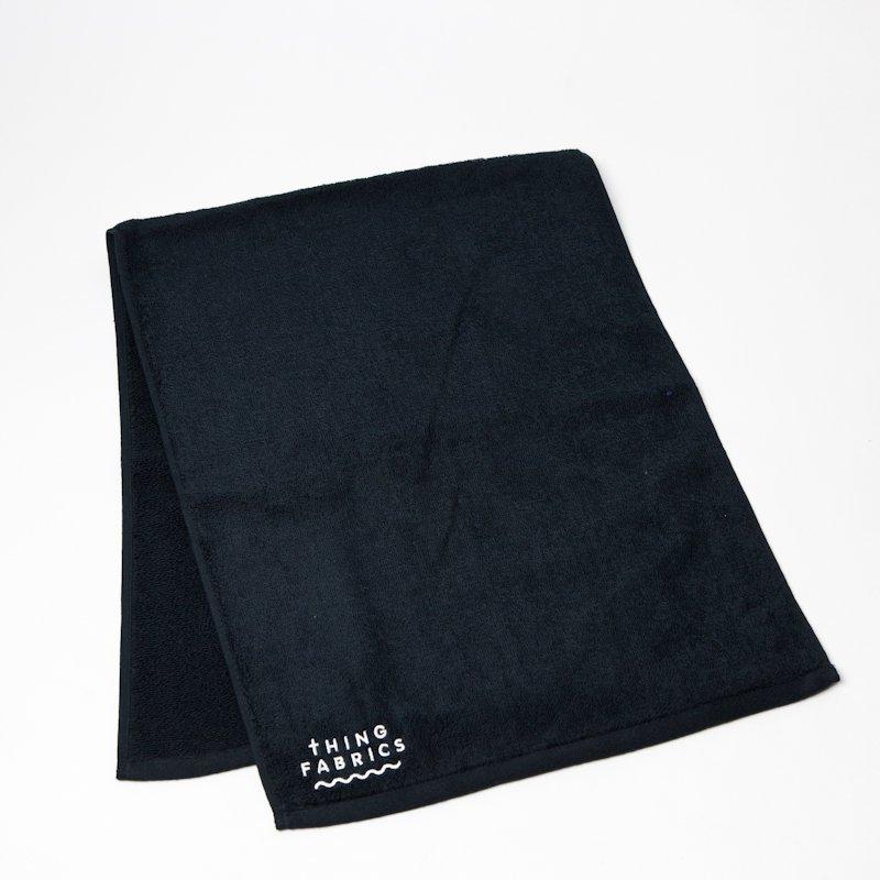 thing fabrics tip top 365 face towel black public
