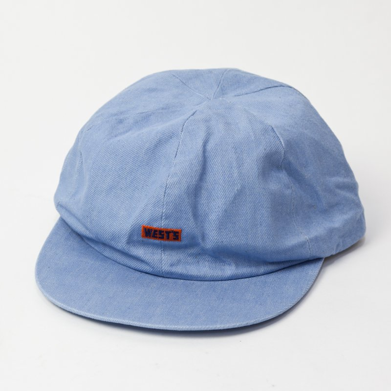 WESTOVERALLS  * WEST'S Denim Cap * Saxblue