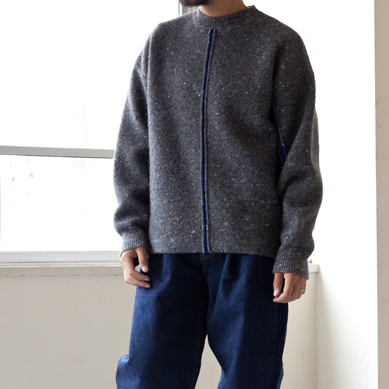 OAMC * EDGE CREWNECK KNITTED * Medium Grey