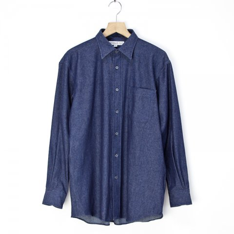 INDIVIDUALIZED SHIRTS * Logger Shirts Vintage Denim * Blue
