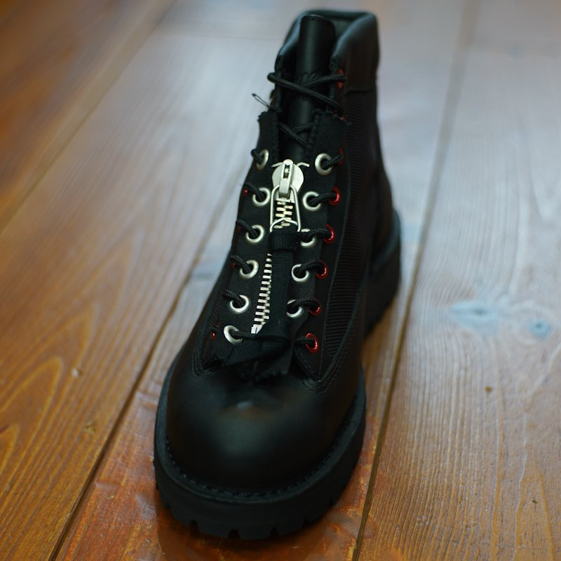YOUNG & OLSEN the DRYGOODS STORE * ARMY LACE ZIPPER * Black