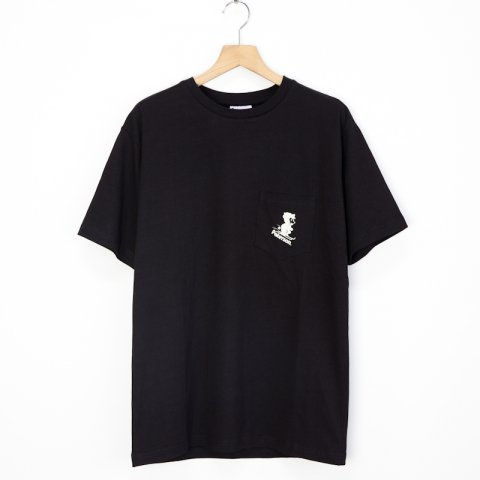 Paterson * Snow Border Pocket Tee * Black
