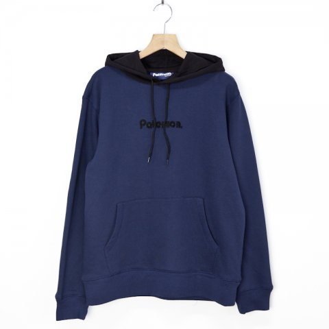 Paterson * Two Tone Pull Over Hoodie * Navy