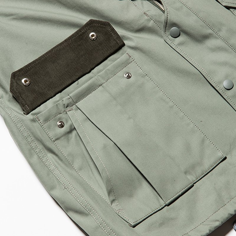 meanswhile * Fire-Resistant Game Jacket * Smoked Green