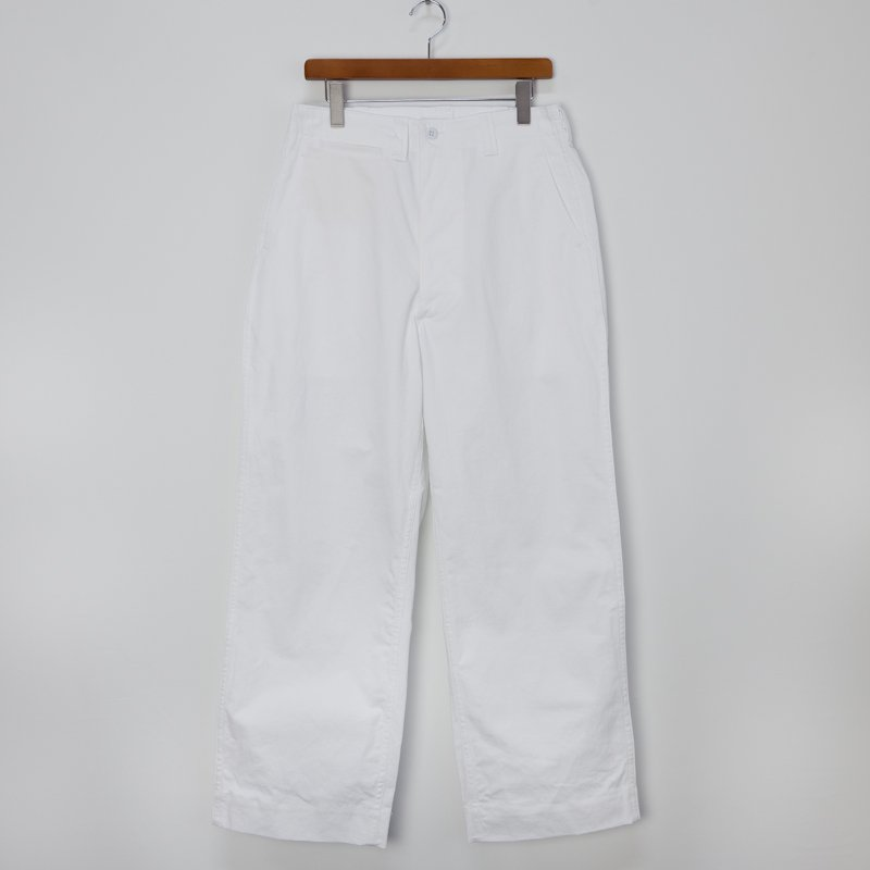 TUKI * Field Trousers * White