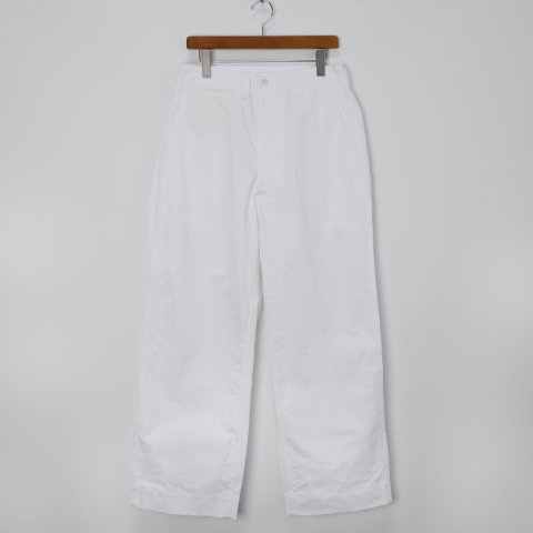 TUKI(SOLD OUT) * Field Trousers * White