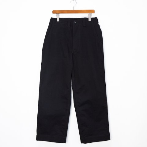 TUKI * Field Trousers * Black
