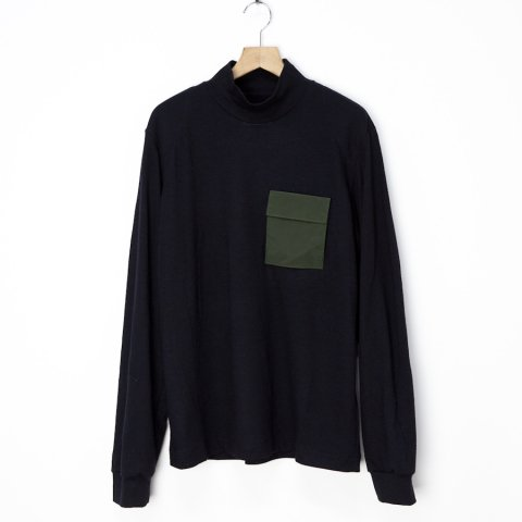 OAMC * GHOST ARMY TURTLENECK * Black