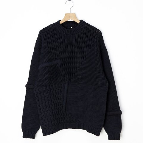 OAMC * PRISMA CREWNECK KNITTED * Black