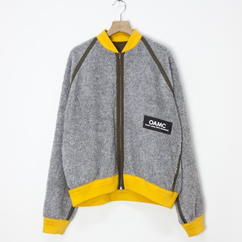 OAMC * COYOTE FULL ZIP * Medium Grey