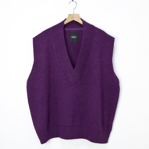 UNUSED * Knit Vest * Purple