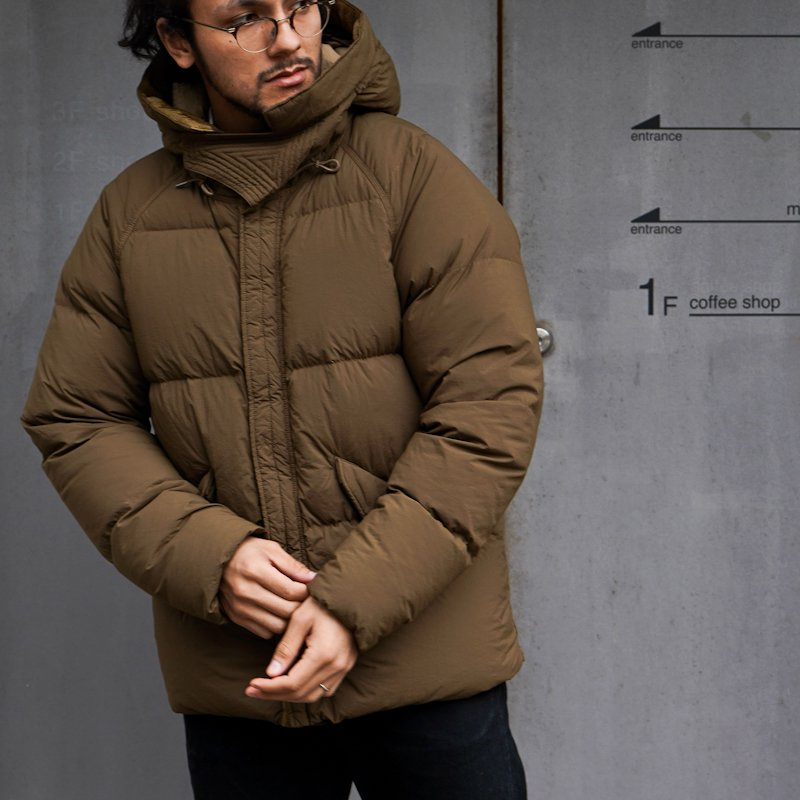 Ten-c * ARTIC DOWN PARKA * Dark Olive