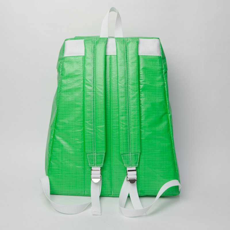 COMME des GARCONS SHIRT * Polyethylene Back Pack large * Green