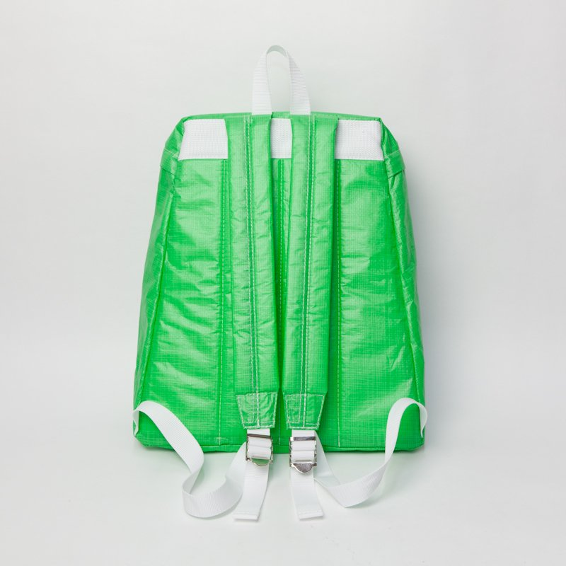 COMME des GARCONS SHIRT * Polyethylene Back Pack Small * Green